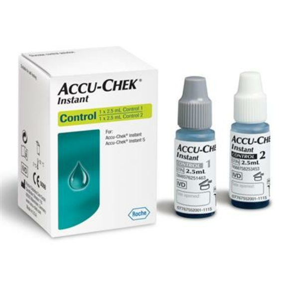 Accu-Chek Instant Controlloldat