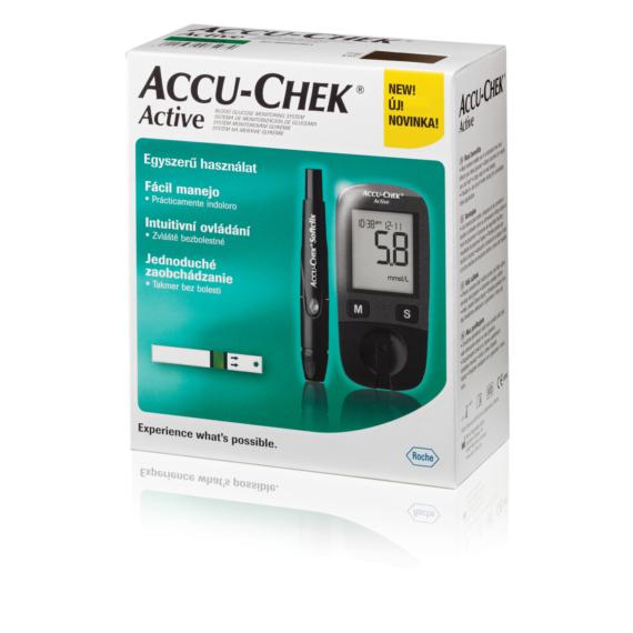 Accu-Chek Active Kit vércukormérő készülék